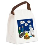 Yeti Winter Campout Canvas Lunch Bag