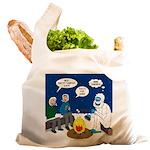 Yeti Winter Campout Reusable Shopping Bag