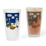 Yeti Winter Campout Drinking Glass