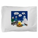 Yeti Winter Campout Pillow Sham