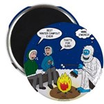 Yeti Winter Campout Magnet