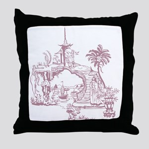 Rose Bridge Throw Pillow