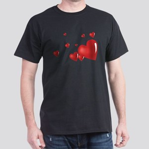 Hearts Dark T-Shirt