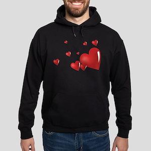 Hearts Hoodie (dark)