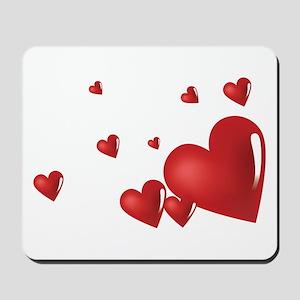 Hearts Mousepad
