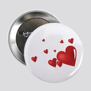 "Hearts 2.25"" Button"