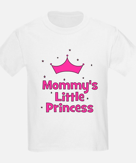 Mommy's Little Princess with Kids T-Shirt