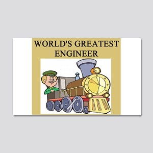 ENGINEER GIFTS T-SHIRTS 22x14 Wall Peel