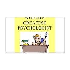 psychology gifts t-shirts 22x14 Wall Peel