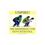 umpire t-shirts presents 38.5 x 24.5 Wall Peel