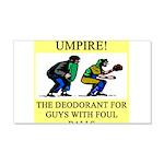 umpire t-shirts presents 22x14 Wall Peel