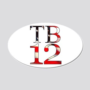 TB 12 20x12 Oval Wall Decal