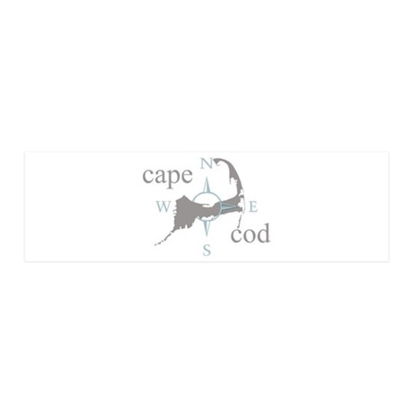 Cape Cod Compass 20x6 Wall Decal