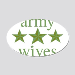 Army Wives 20x12 Oval Wall Decal