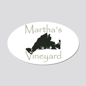 Martha's Vineyard 20x12 Oval Wall Decal