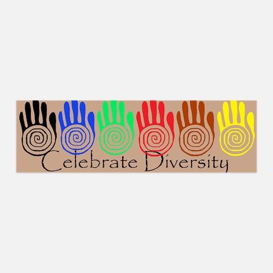 Celebrate Diversity - Sacred 42x14 Wall Peel