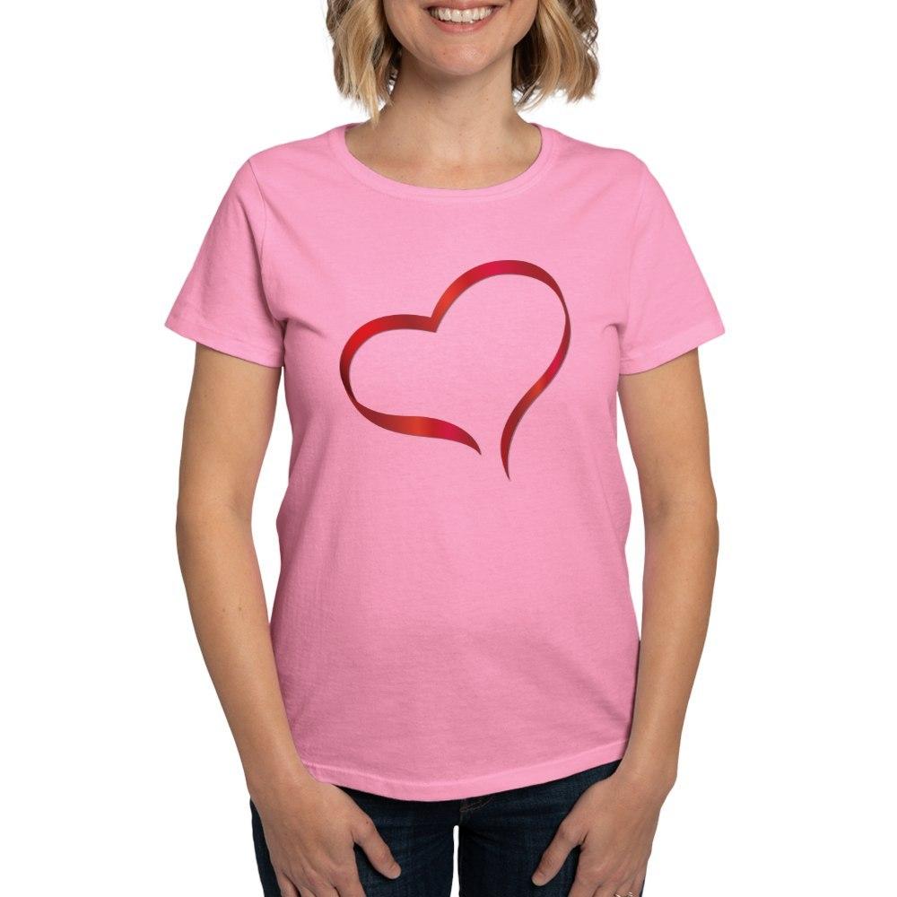 CafePress-Heart-Women-039-s-Dark-T-Shirt-Women-039-s-Cotton-T-Shirt-505359491 thumbnail 56