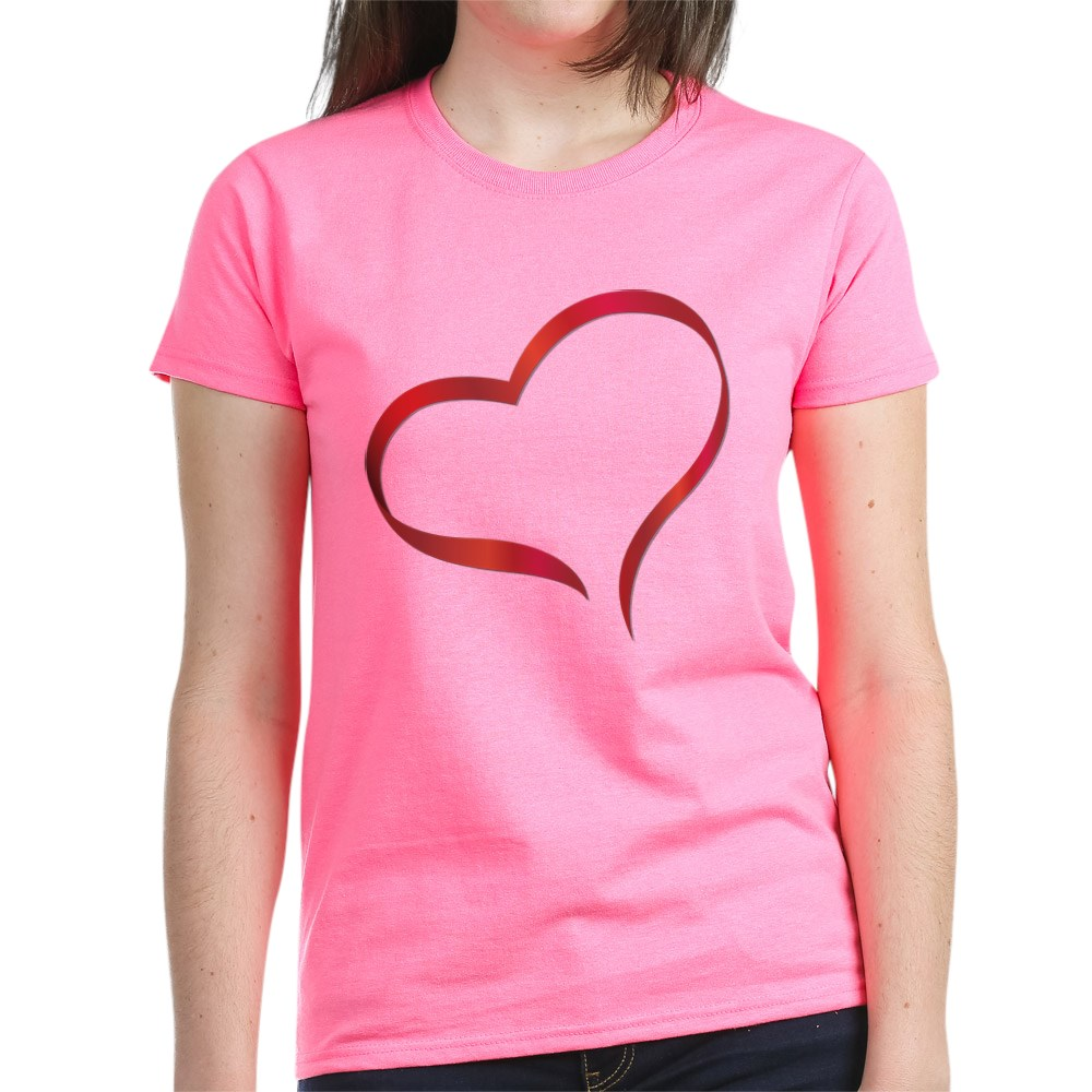 CafePress-Heart-Women-039-s-Dark-T-Shirt-Women-039-s-Cotton-T-Shirt-505359491 thumbnail 53