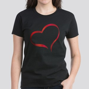Heart Women's Dark T-Shirt