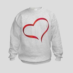 Heart Kids Sweatshirt