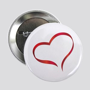"Heart 2.25"" Button"