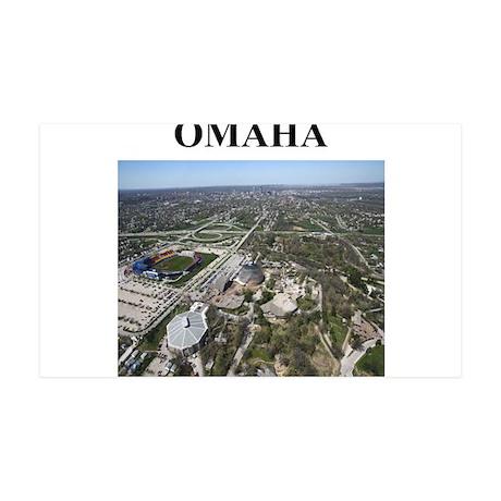 omaha gifts and t-shirts 38.5 x 24.5 Wall Peel