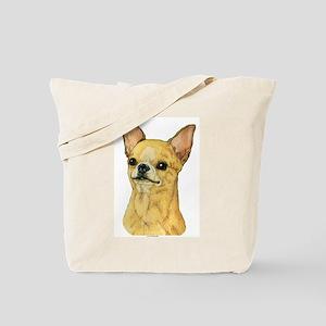 Smooth Coat Chihuahua Tote Bag