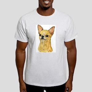 Smooth Coat Chihuahua Ash Grey T-Shirt