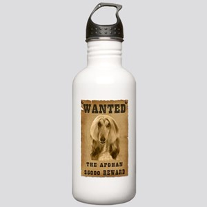 """Wanted"" Afghan Stainless Water Bottle 1.0L"