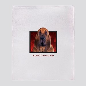 Bloodhound Throw Blanket