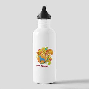 Groovy Bull Terrier Stainless Water Bottle 1.0L