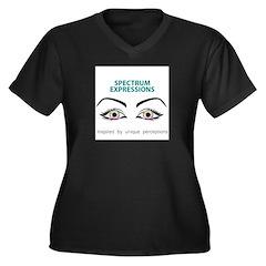spectrumeye Plus Size T-Shirt
