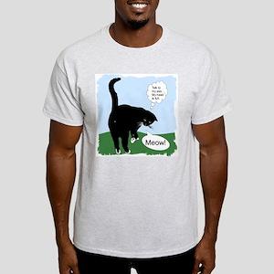 """""""Attitude"""" Ash Grey T-Shirt"""