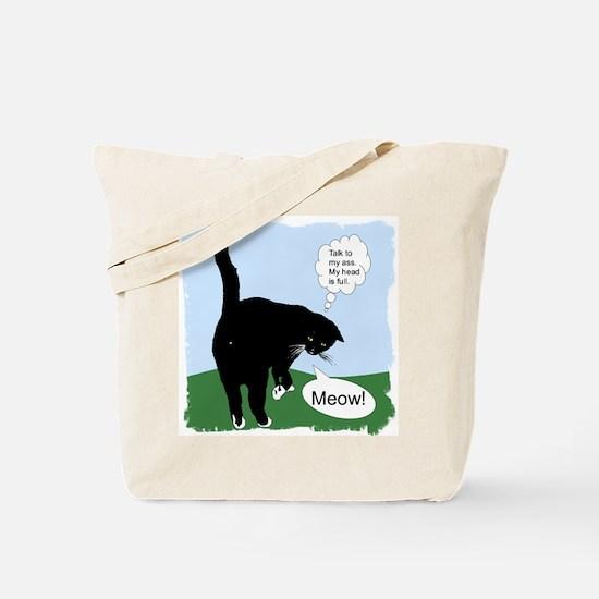 """""""Attitude"""" Tote Bag"""