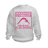 Hobbies dance warning gymnast could flip Crew Neck