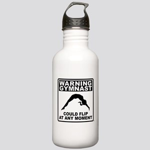Warning Gymnast Could Flip Stainless Water Bottle