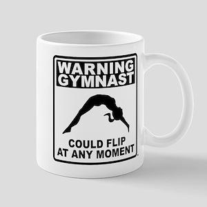 Warning Gymnast Could Flip Mug