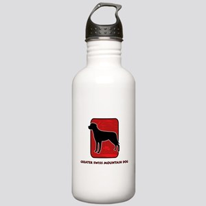 Greater Swiss Mountain Dog Stainless Water Bottle