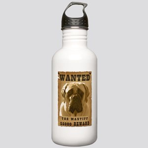 """Wanted"" Mastiff Stainless Water Bottle 1.0L"