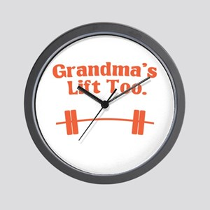 Grandma's lift too Wall Clock