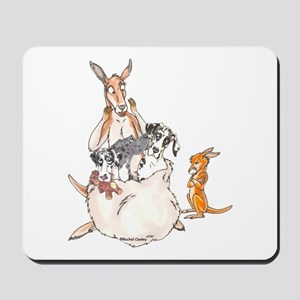 Pouchful of Patches Mousepad