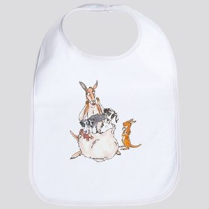 Pouchful of Patches Bib