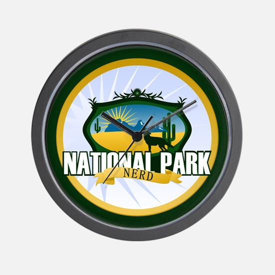 National Park Nerd Wall Clock