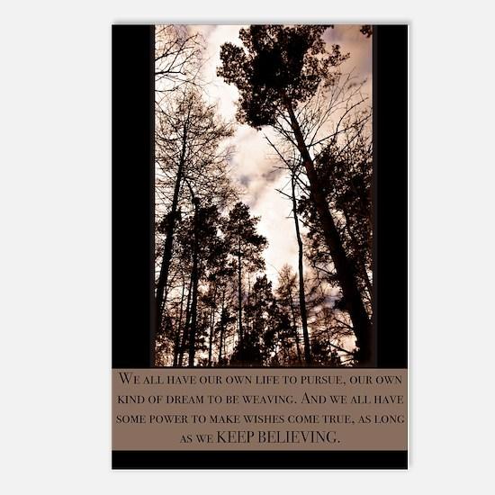 Keep Believing Postcards (Package of 8)