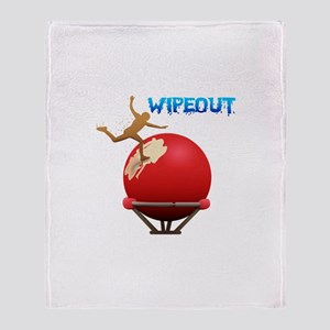 Wipeout Throw Blanket