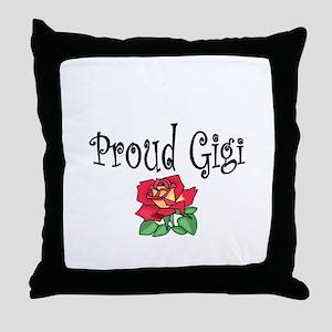 proud gg Throw Pillow