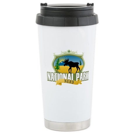 Natl Park Nerd (Ver 2) Stainless Steel Travel Mug