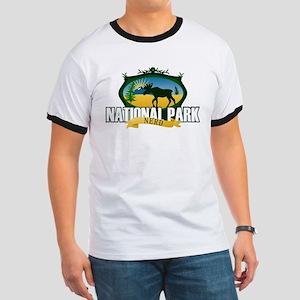 Natl Park Nerd (Ver 2) Ringer T