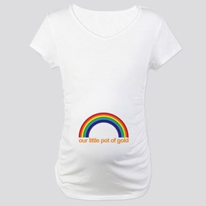 Maternity T-Shirt | our little pot of gold (Belly)