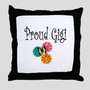 Proud Gigi Throw Pillow